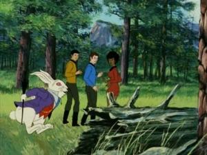 White Rabbit Animated